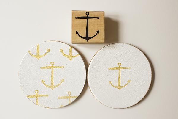 Anchor Coasters DIY 4