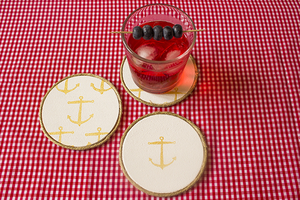 Anchor Coasters DIY 9