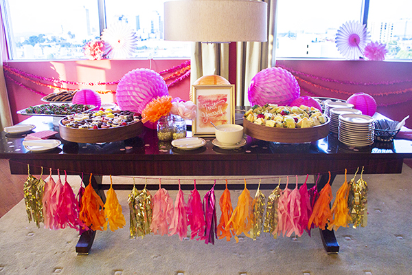 Amber Housley Inspired Cocktail Party Table